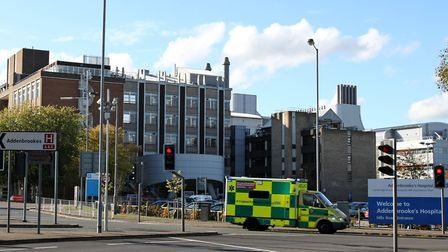 A 17-year-old boy has been taken to Addenbrooke's Hospital in Cambridge with life-threatening injuri