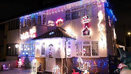 Send us your Christmas lights. Picture: MARCUS CLACKSON