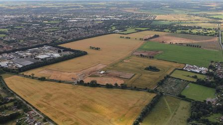 The Marham Park site on the outskirts of Bury St Edmunds. Picture: ORACLE PR