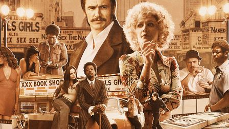 HBO commissioned a retro-style film poster to promote their new TV series The Deuce set in New York
