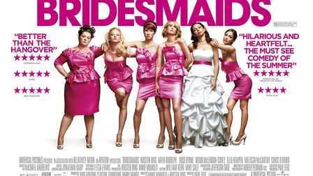 Bridesmaids gets the bland romantic comedy 'genre' poster treatment. Photo: Archant