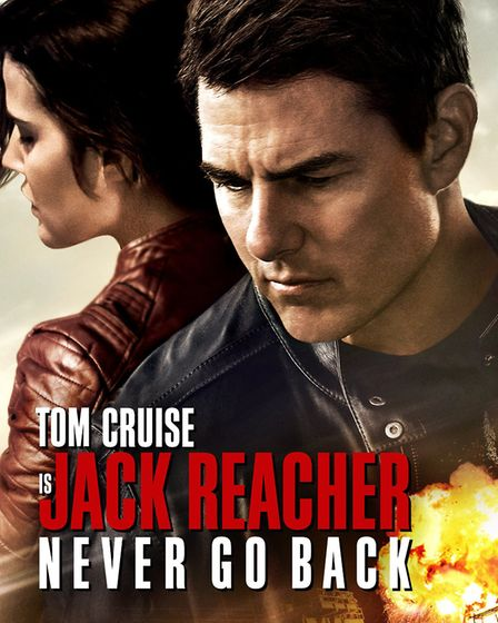 Jack Reacher gets the identi-ikit action-thriller 'genre' poster treatment. Photo: Archant