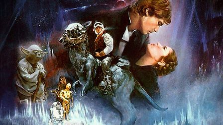 Empire Strikes Back poster gave audiences a taste of what to expect in the film itself.Photo: Archan