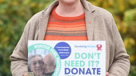 Launch of this year's Surviving Winter campaign. Pictured from Citizens Advice is Nicky Willshire. P