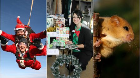 There are some great ways to help charities this Christmas, including a Santa Skydive, buying presen
