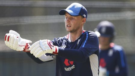 England's Joe Root during a nets session at the Adelaide Oval, ahead of the current Second Test.
