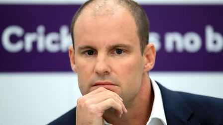 Director of Cricket Andrew Strauss.