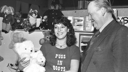 Smiles and bears at the Hadleigh Expo in 1981. Picture: ARCHANT