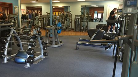 The gym at Kingfisher Leisure Centre. Picture: SSL