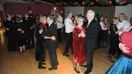 People who attended last year's fundraising Valentines Ball, at the Southgate Community Centre, in B