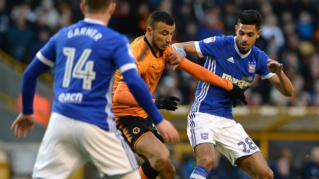 Kevin Bru played against Wolves but missed the QPR game. Picture Pagepix