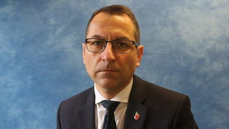 Det supt Andy Smith from Suffolk Constabulary. Picture: SUFFOLK CONSTABULARY