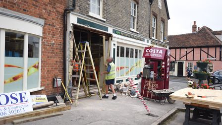 The Co-op in Earls Colne has subjected to a ram raid in September. Picture: ARCHANT