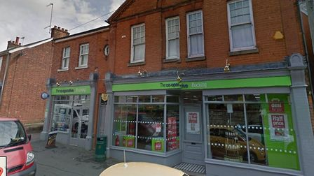 The Co-op store in Bocking, which was robbed by Ben Cresswell. Picture: GOOGLE MAPS