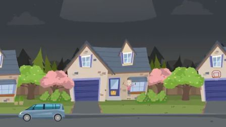 The ambulance service has produced an animated video on how to prepare for an emergency. Picture: EE