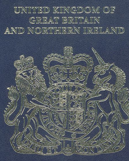 How a British passport will look after Brexit. Picture: HOME OFFICE/PA WIRE