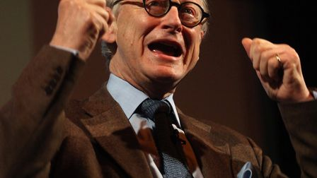 Lord Deben pictured at the Aldeburgh launch of the Save Our Suffolk Estuary campaign. Picture: EAMON