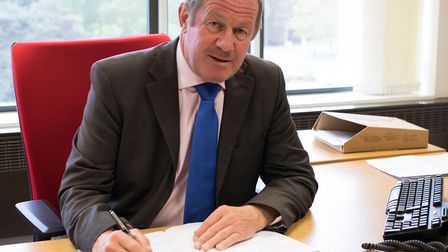 Tim Passmore, Suffolk's police and crime commissioner (PCC). Picture: Suffolk PCC.