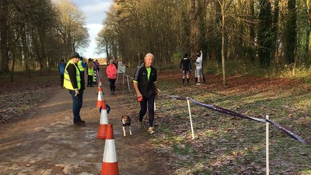 Dogs as well as runners took part in last Saturday's incident-packed Swindon Parkrun. Picture: CARL