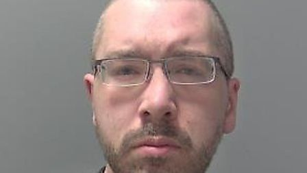 Daniel Palmer, 35, of Bobby Road, Bury St Edmunds. Picture: SUFFOLK CONSTABULARY