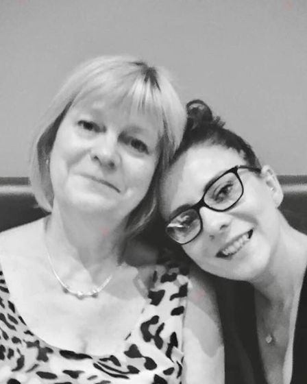 Miriam Lewis with her daughter Natalie Lewis-Hoyle. Picture: FACEBOOK