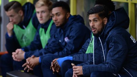 Kevin Bru on the bench at Burton Albion Picture Pagepix
