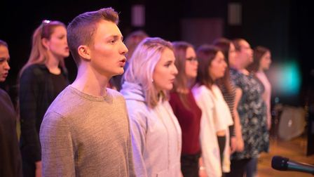 An ensemble performance for the One sixth form Winter showcase concert. Picture: JOE TAYLOR