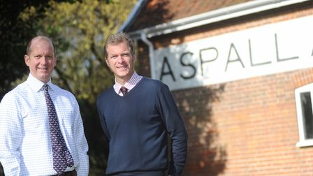 Barry and Henry Chevallier Guild of Aspall. Picture: LUCY TAYLOR