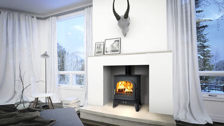 Skagen 5 wood burner available from Classic Stoves. Picture: Contributed