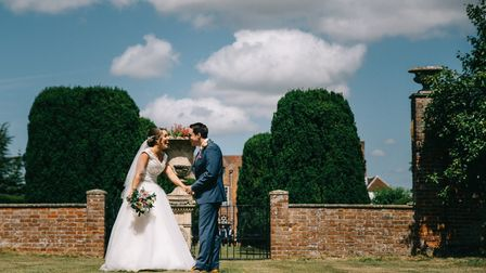 If you are planning a wedding make sure you don't miss Glemham Hall's wedding event. Picture: MARK E