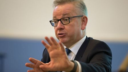 Environment Secretary Michael Gove speaking at the Oxford Real Farming Conference in Oxford. Picture
