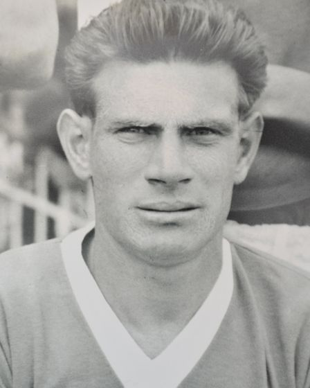 Ipswich Town's record goal scorer Ted Phillips, who has died