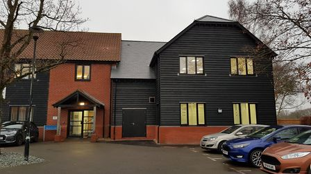 The extension to Arc Legal Assistance's offices at Lodge Park, on the edge of Colchester.
