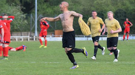 Duane Wright, who has joined manager Shane Coldron at Whitton this season. Both were at Stowmarket l