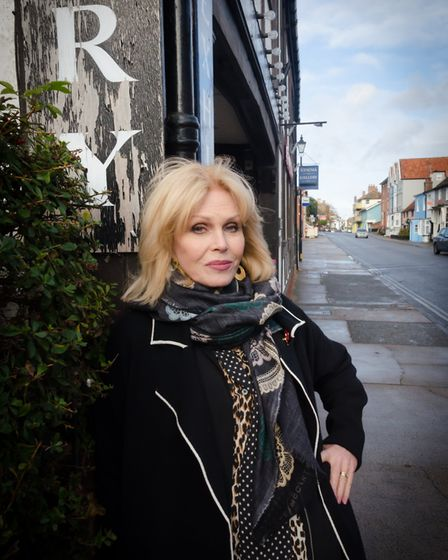 Joanna Lumley, pictured at the Aldeburgh Documentary Festival, stars in the comedy. Picture: NICK TI