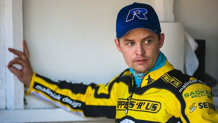 Morten Risager, who has called it a day as a speedway rider after 14 years. Risager joined the Wiche