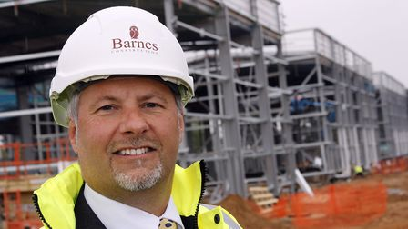 Nick Fayers, managing director of Barnes Construction, who has died at the age of 56. Picture: Paul