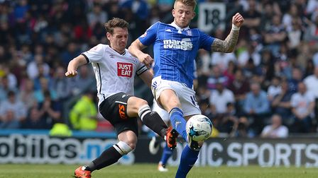 Prior to the game at Fulham, Hyam last played for the Blues in May 2016 at Derby. Picture: PAGEPIX