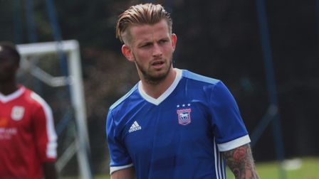 Hyam, pictured during an Under 23s game from earlier in the season. Picture: ROSS HALLS