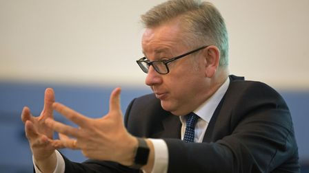 Environment Secretary Michael Gove speaks at the Oxford Real Farming Conference in Oxford. PRESS ASS