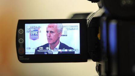 Watch Mick McCarthy's press conference live. Photo: Archant