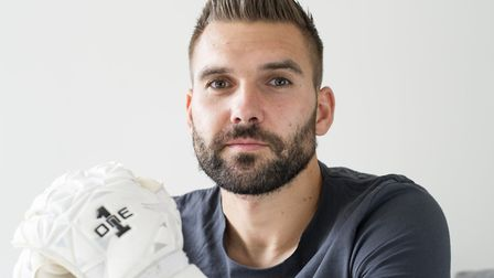 Bartosz Bialkowski, pictured at his Suffolk home. Picture: Sarah Lucy Brown