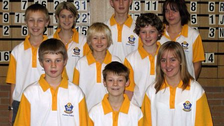The junior section in 2006. Picture: ROOKERY BOWLING CLUB
