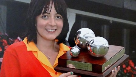 Abbi Manser, winner of the Women�s National Bowls England Under 25�s singles. Picture: ROOKERY BOWLI