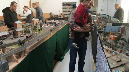The Ipswich Railway Modellers' Association open day attracted many visitors. Picture: PAUL GEATER