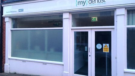 Mydentist in King's Road, Bury St Edmunds, will no longer provide NHS services from the end of next