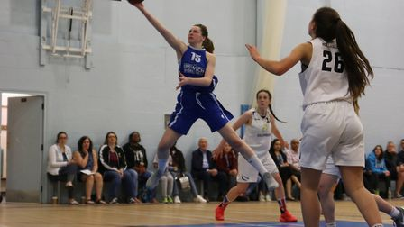 Cameron Taylor-Willis was a key contributor for the Ipswich under-16 girls. Picture: PAVEL KRICKA