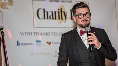 Toby Freeman, founder of the Robin Cancer Trust, who has received a British Citizen Award. Picture: