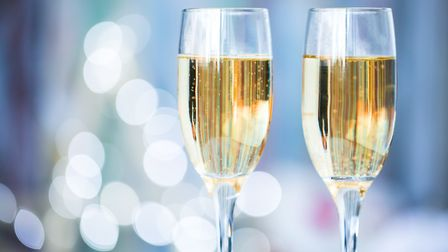 Enjoy a bottle of bubbly at Trinity park this NYE. Picture: GETTY IMAGES/ iStockphoto