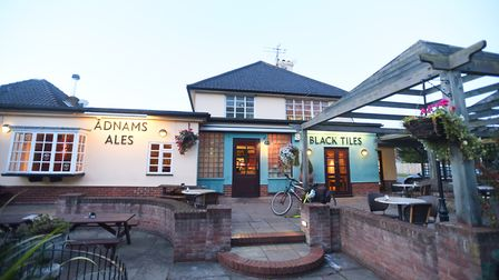 The cosy Black Tiles pub is perfect for NYE. Picture: GREGG BROWN
